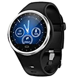 Hot Sale!NDGDA Smart Watch Android iOS Sports Fitness Calorie Wristband Wear Waterproof Smartwatch (Black)