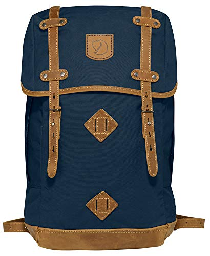 "Fjallraven - Rucksack No. 21 Large Backpack, Fits 17"" Laptops, Navy"