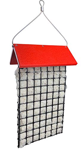 Builder Best Nest - JCs Wildlife Deluxe Hummingbird Nester Builder with Weather Guard Roof