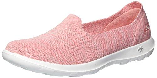 Skechers Performance Women's Go Walk Lite-Sweet Pea Loafer Flat,Pink,6.5 M US