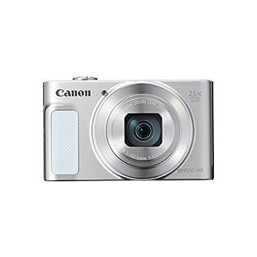 Canon PowerShot SX620 Digital Camera w/25x Optical Zoom Wi-Fi & NFC Enabled (Silver)