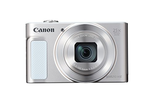 Canon PowerShot SX620 Digital Camera w/25x Optical Zoom - Wi-Fi & NFC Enabled (Silver) (Nikon Camera Point And Shot)