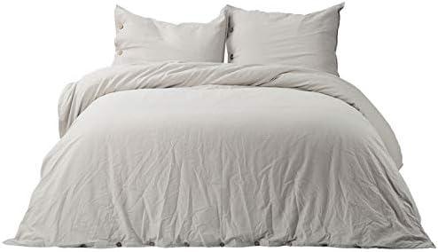 Bedsure Cotton Breathable Comforter Bedding