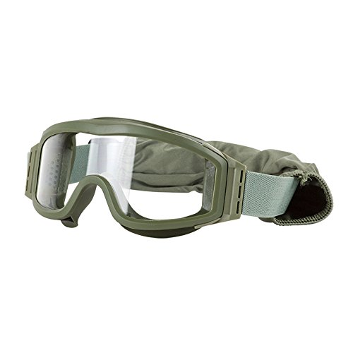 (Valken Airsoft Tango Goggles, with 3 Lenses, Olive Frame)