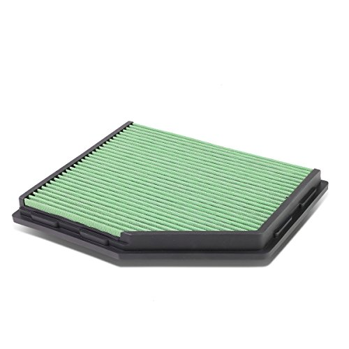 Bmw Replacement Engines - For BMW 5 Series / Z4 M Reusable & Washable Replacement Engine High Flow Drop-in Air Filter (Green)
