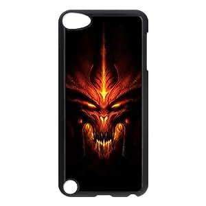 iPod Touch 5 Case Black Diablo tahq