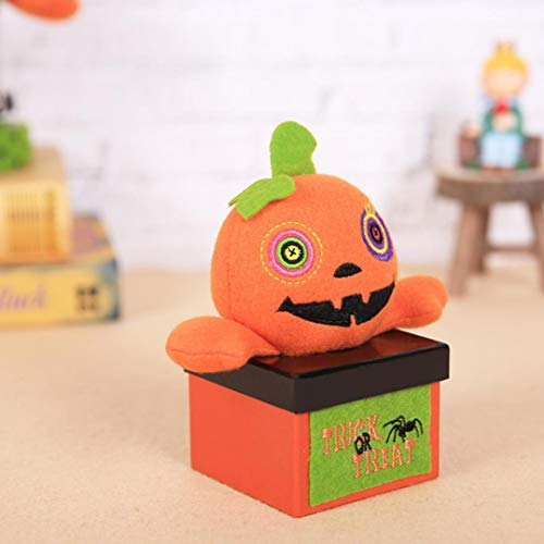 YJYdada Halloween Decorations Creative Halloween Vampire Pumpkin Candy Box Gift Box (C)