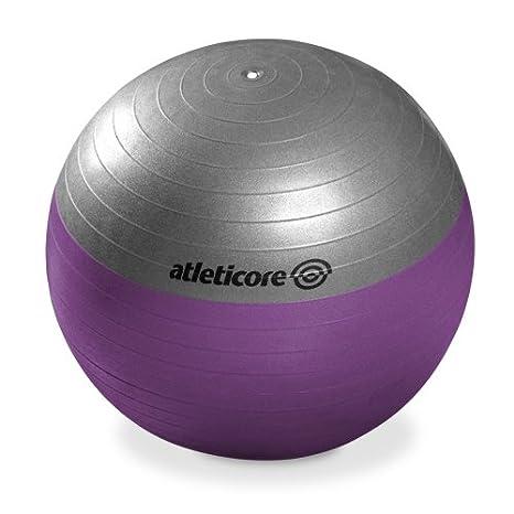 atlet Icore pelota Pilates 55 cm, con bomba: Amazon.es: Deportes y ...