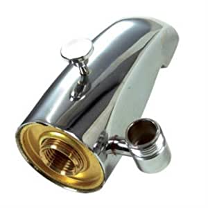 "Danco 5"" Chrome Tub Spout with Diverter with Hand Shower"