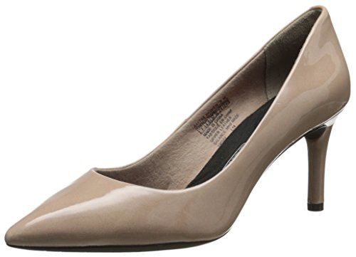 Rockport Women's Total Motion 75mm Pointy Pump Warm Taupe Pp4oVFNRma