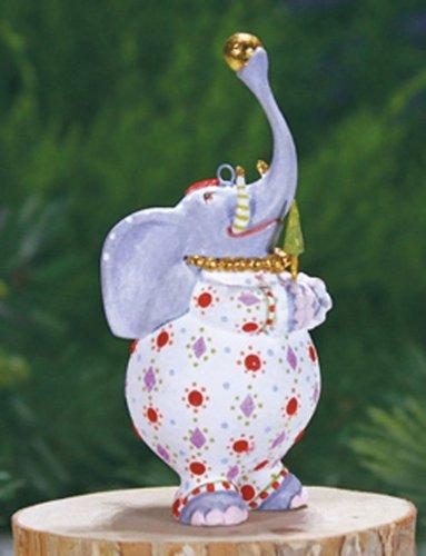 Patience Brewster Mini Eleanor Elephant Christmas Figural Ornament 08-30954