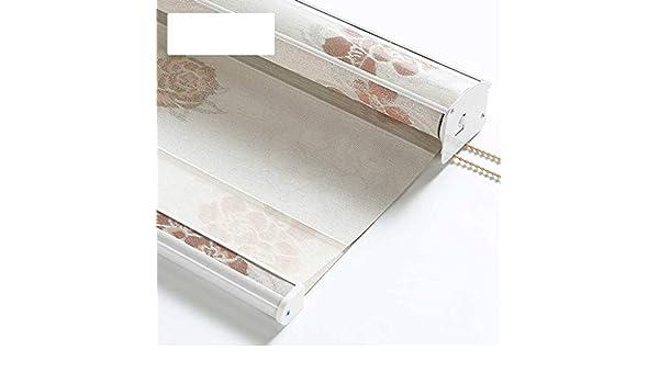 WUYYJL Cortina Enrollable Impermeable Hilo Suave Cortina Opaca Ascensor Cuarto de baño Dormitorio Sala de Estar Persianas (Color : B, Size : 160 * 210cm): Amazon.es: Hogar
