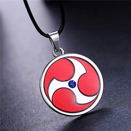 Algol - MOSU 20/pcs lot Anime Naruto Necklace Uchiha Itachi Mangekyou Sharingan Pendant Cosplay Toy Jewelry