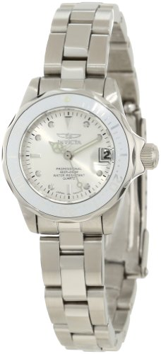 Invicta Women's 12519 Pro-Diver Silver Dial Watch