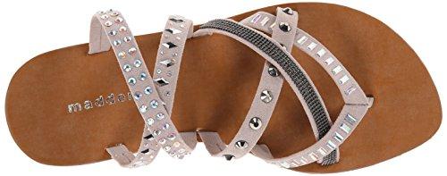 887865309000 - Madden Girl Women's Hoffmen Dress Sandal, Taupe Fabric, 9 M US carousel main 7