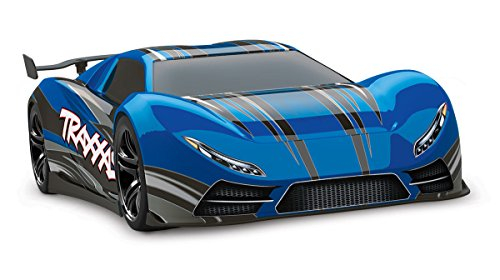 Traxxas XO-1 1/7 Scale AWD Supercar with TQi 2.4GHz Radio System & TSM, Blue