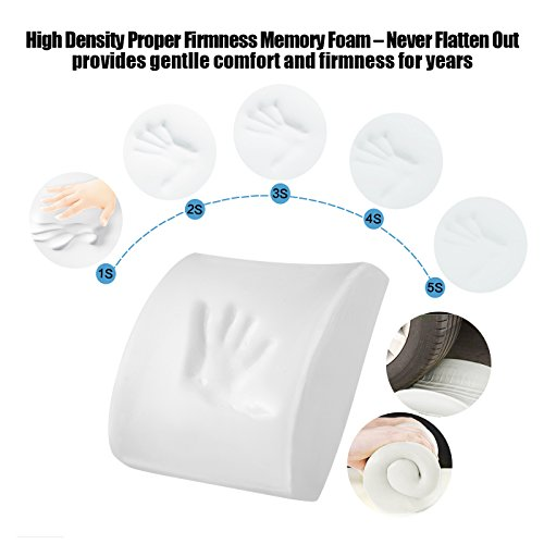 Review LoveHome Memory Foam Lumbar
