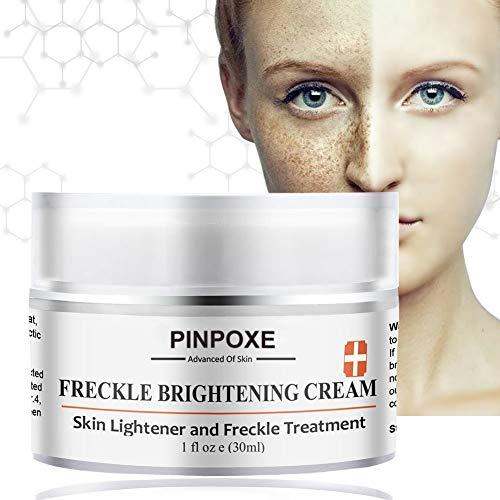 Skin Brightening Cream, Freckle cream, Dark Spot Corrector Remover For Face & Melasma Treatment Fade Cream, Removes Hyperpigmentation Reduces Melasma Lightens Blemishes
