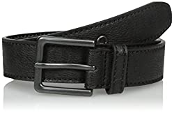 Levi's Big Boys Levi's Boys Casual Bridle Belt, Black, M