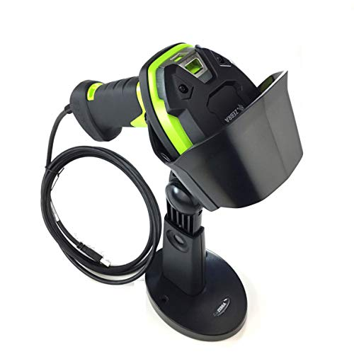(Zebra DS3608-ER (Extended Range) Ultra-Rugged Handheld Corded 2D Barcode Scanner/Imager Kit (1D, 2D, PDF417, QR Code), Includes Heavy Duty Stand and USB Cable)