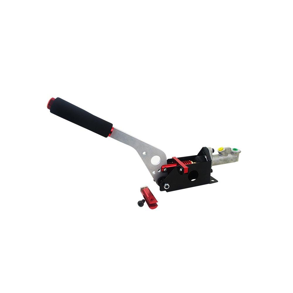 KKmoon buona qualità Car Refit Freno a mano idraulico Racing Drift Freno a mano Hydraulic Athletic Universal Modification Competitivo Rosso