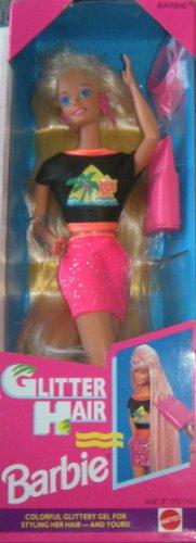 Glitter Hair Barbie 1993 Blonde (Barbie Glitter Hair)