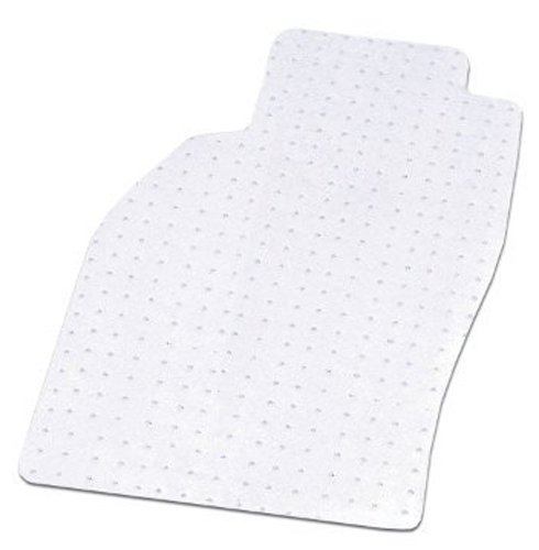 Coverking Front Custom Fit Floor Mats for Select Mercedes-Benz S-Class Models - Nibbed Vinyl (Clear)