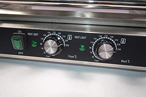 Intbuying 110V US Seller items Popcorn Commercia Hot Dog 7 Roller Grilling Machine Hot Selling