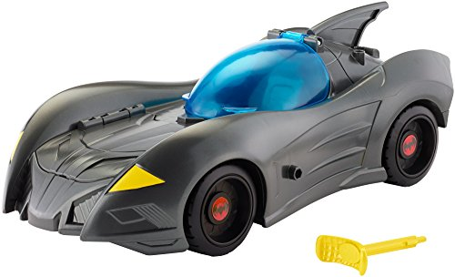 "DC Justice League Action Attack & Trap Batmobile Vehicle, 4.5"" from Mattel"