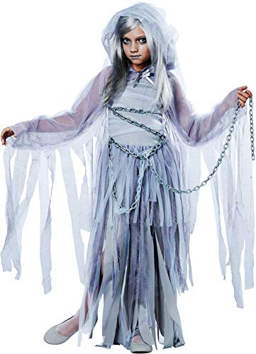 Haunted Beauty Smoky Veil Spirit Presence Ghosts & Monsters Costume Child Girls -