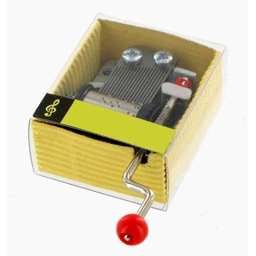 18-note hand crank musical box / musical mechanism : Mamma mia (Abba) Lutèce Créations 2708
