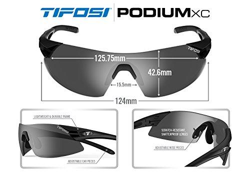 Negro Sol de XC TIFOSI Podium Gafas Negro WRqw1xa0B
