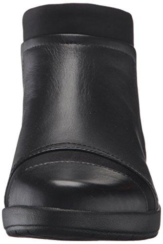 Rockport Leather Black Women's Black Darina Devona Boot 0ZAw0rq