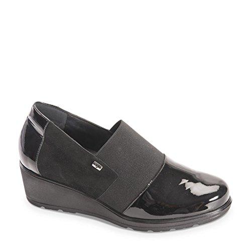 VALLEVERDE , Sneakers basses femme Noir