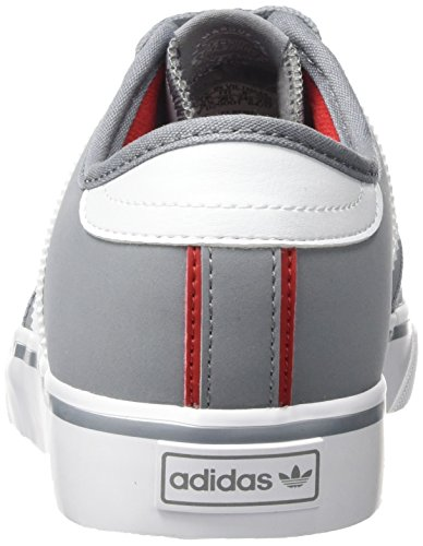adidas Unisex-Kinder Seeley Skateboardschuhe Grau (Grey/Footwear White/Scarlet)