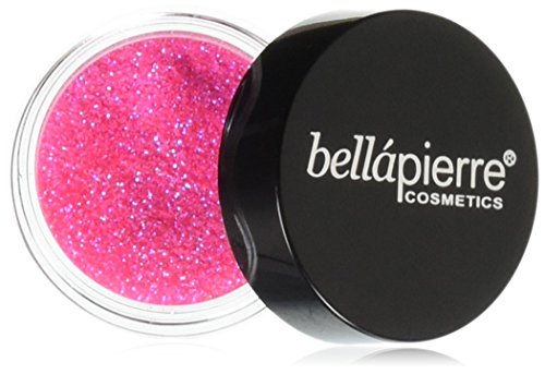 Bella Pierre Glitter Powder, Wild Pink, 3.5 Gram