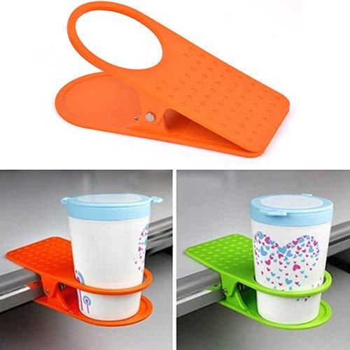 Bebida-Tasse f/ür Zuhause und B/üro Kaffeetassenhalter Clip TrifyCore Kreative Halterung f/ür Computertisch Multi. Kaffeetasse