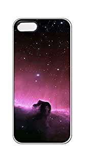 Custom Cover Case with Hard Shell Protection case iphone 5s - Star Universe clouds