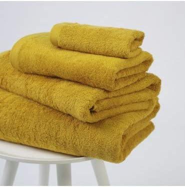 10XDIEZ Toalla algodón 550 gr/m2 Trigo 41 - Color - Mostaza ...