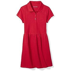 Best Epic Trends 41l%2BK9TaCjL._SS300_ Amazon Essentials Girls' Short-Sleeve Polo Dress