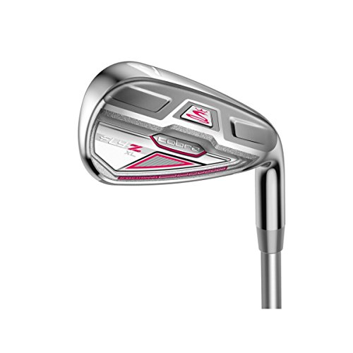 Cobra Women's Fly-Z XL Golf Iron Combo Set, Right Hand, Graphite, 4-6H, 4PWSW Review