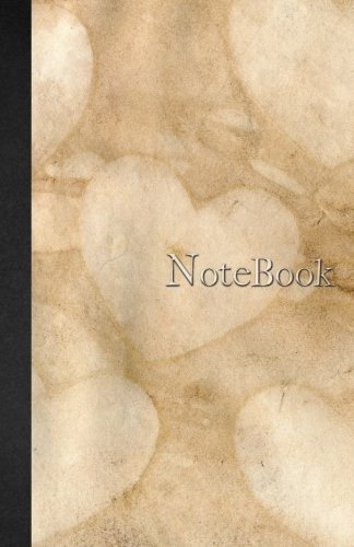 Download Notebook: Carnet de notes Ligné - A5 - 110 pages - Watercolor & Marbre - Vieux Livre - Coeurs - 110 pages, couverture souple glossy Dot point, bullet ... planning, organizer, journal (French Edition) ebook