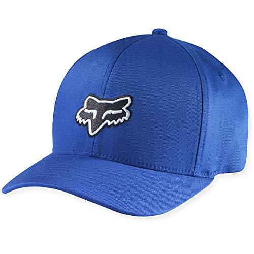 Fox Racing Legacy Flexfit Hat (XX-LARGE) (DUSTY BLUE)