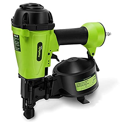 PowRyte Elite 11 Gauge Air Coil Roofing Nailer - 3/4-Inch to 1-3/4-Inch (nailer)