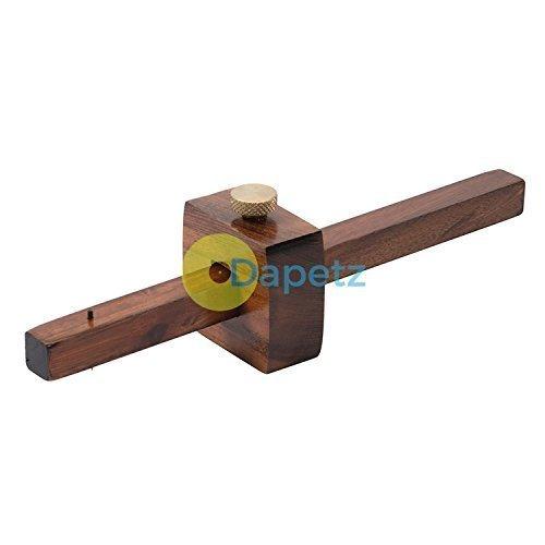 Daptez ® Hardwood Marking Gauge 230mm Measuring Marking Spur Carpentry Woodwork DIY Dapetz