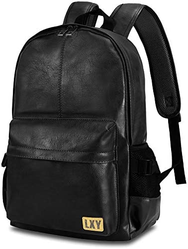 Backpack Leather Bookbag LXY Vintage product image
