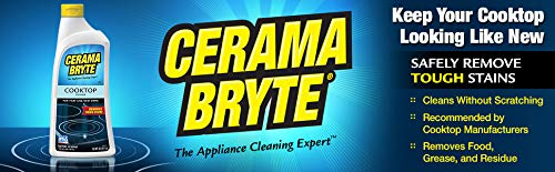 Cerama Bryte Glass-Ceramic Cooktop Cleaner, 28 Ounce (3 Count) by Cerama Bryte (Image #2)