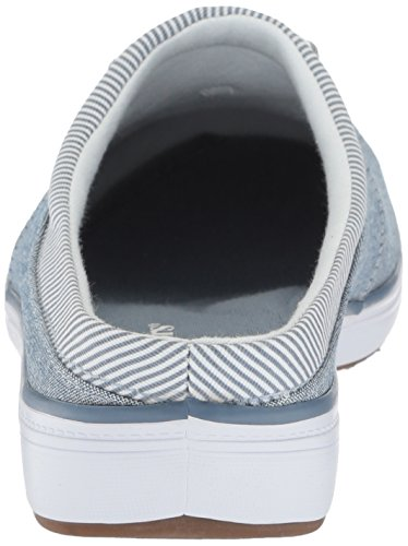 Grasshoppers Womens Janet Mule Chambray Sneaker Stonewash Blu