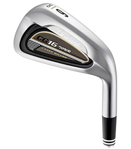 (Cleveland CG16 Tour Satin Chrome Iron Set 3-PW True Temper Dynamic Gold S300 Steel Stiff Right Handed 38 in)