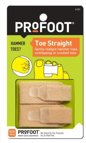 ProFoot Toe Straight Hammertoe Wrap 1 pair (Pack of 3)